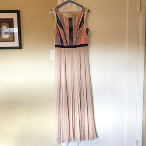 Maeve Ankle Length Pleated Dress